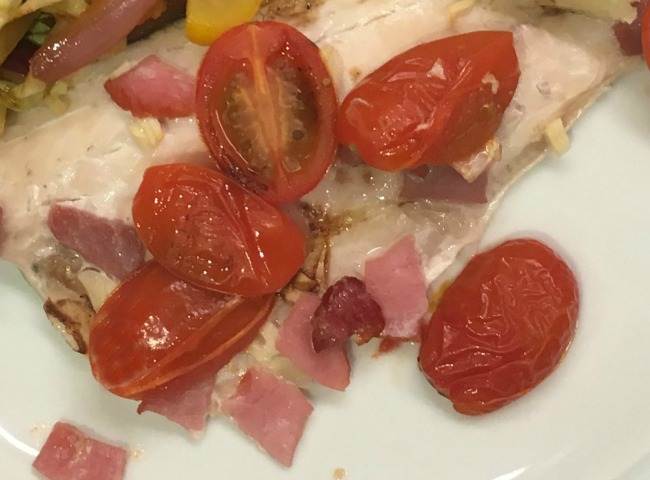 Slimming-world-sea-bass-with-tomatoes-and-bacon-recipe