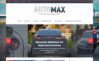 Automax new Blogger Template 2017