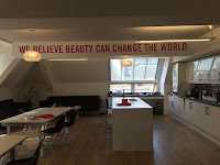 bareMinerals head office, bareMinerals kitchen
