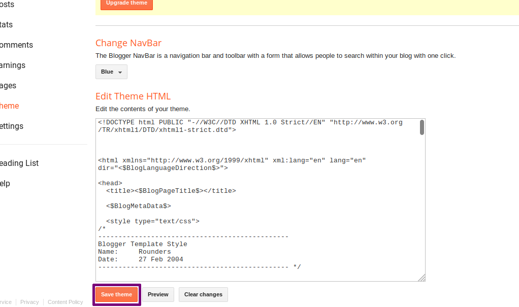 Blogspot 301 Redirection step 6