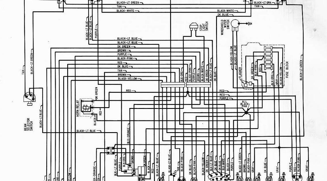 Free Auto Wiring Diagram: 1964 Chevrolet Corvair