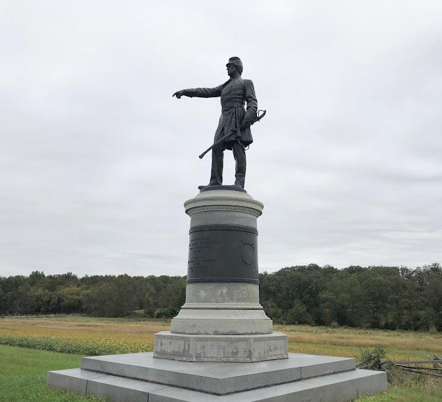 Statue at Gettysburg Battlefield