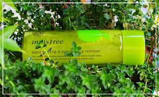 Demakijaż po koreańsku [INNISFREE]  Apple seed Lip &Eye Makeup remover - recenzja