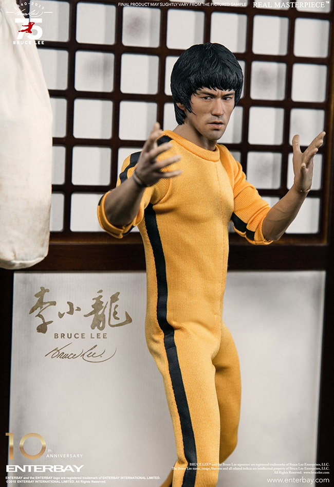 Enterbay sculpted by Scuderia - Bruce Lee art collection @ YellowMenace
