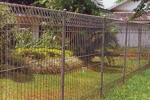 Distributor pagar brc hot dip galvanis dan elektroplating harga pabrik.