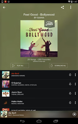 Gaana Hindi Songs Online Apk For Android - Approm org Best