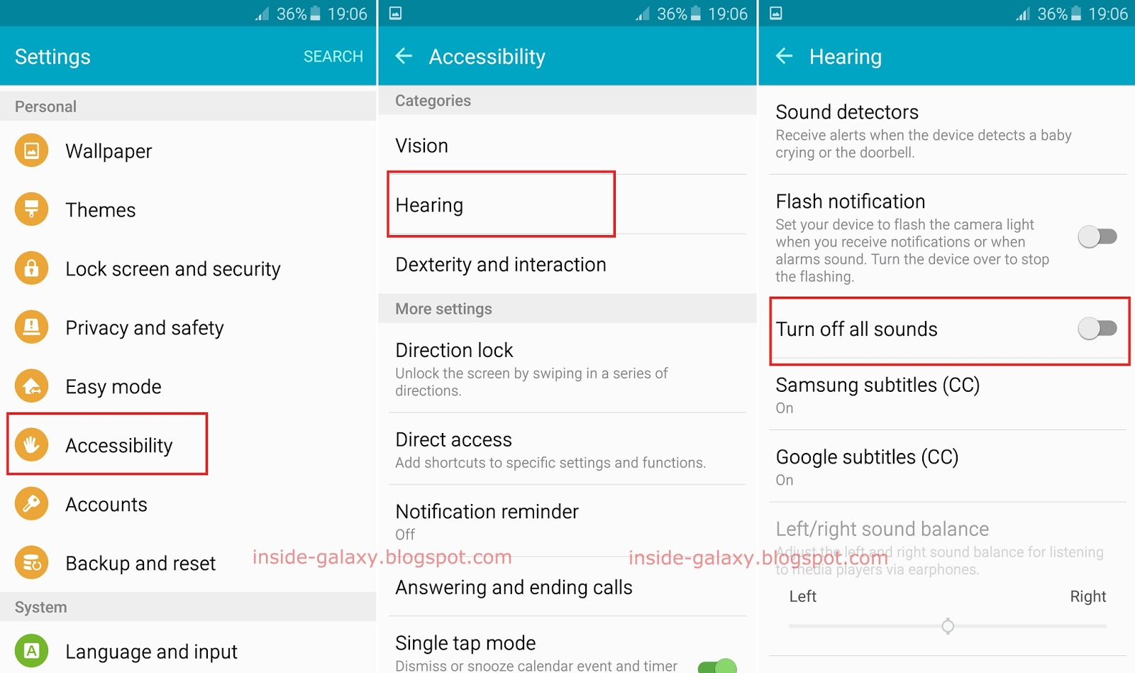 Samsung galaxy s6 edge turn on autocorrect 17