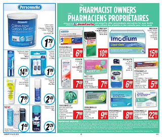 Jean Coutu Weekly Flyer Circulaire January 19 - 25, 2018