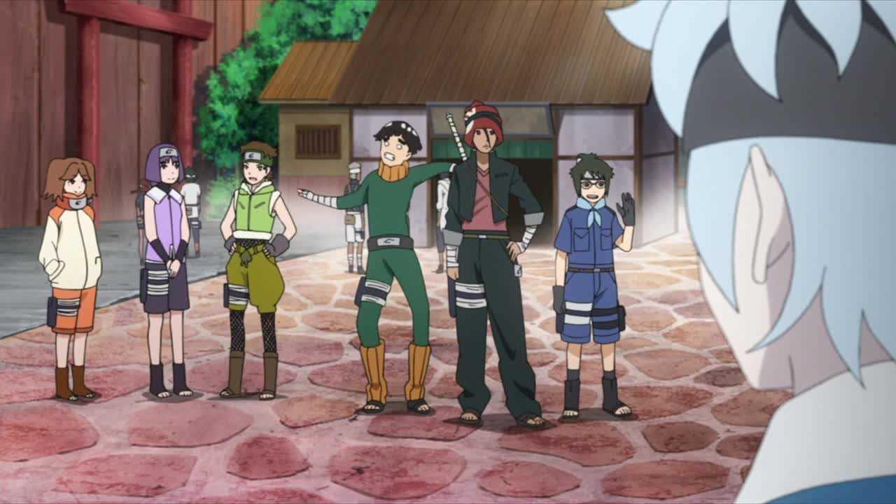 الحلقة 56 من أنمي بوروتو: ناروتو الجيل التالي Boruto: Naruto Next Generations مترجمة