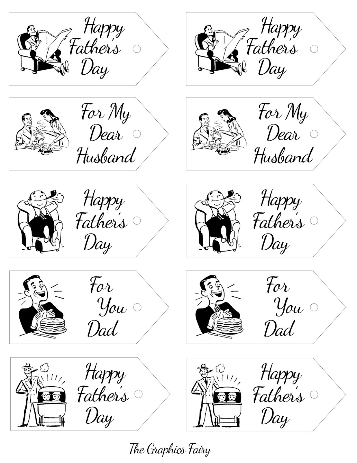101 Free Father S Day Printables