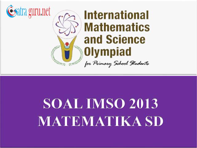 Soal IMSO Matematika 2013