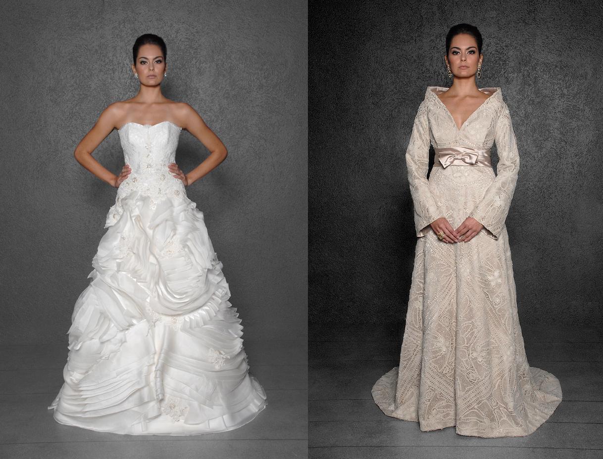 5bfd6090c ... com bordados e rendas; que tornam o vestido romântico, e o trabalho  feito à mão é tão excelente que o vestido se torna uma obra de arte e uma  joia.