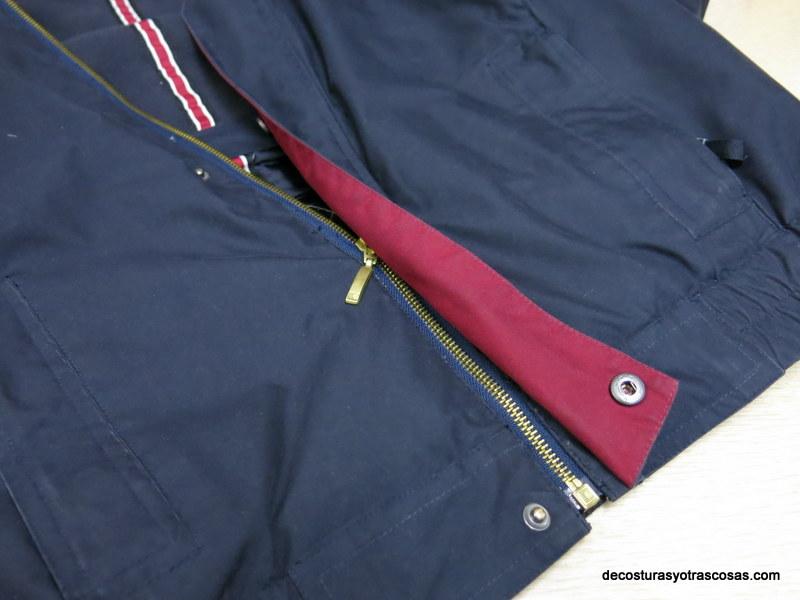 Cambiar cremallera a abrigo