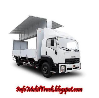 Model terbaru dam truk isuzu