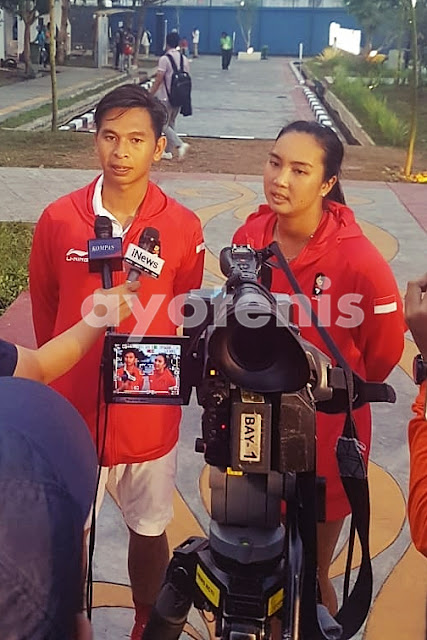 Tenis Asian Games 2019: Aldila Sutjiadi/Christopher Rungkat Persembahkan Medali Emas Bagi Indonesia