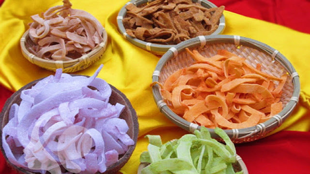 Traditional dishes in Tet