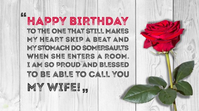 Best Birthday Wishes for Wife with Images