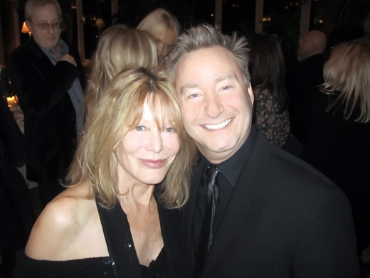 With my dear Rona Newton-John at a 2011 Christmas party