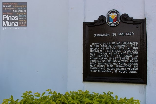 Mahatao Church Marker