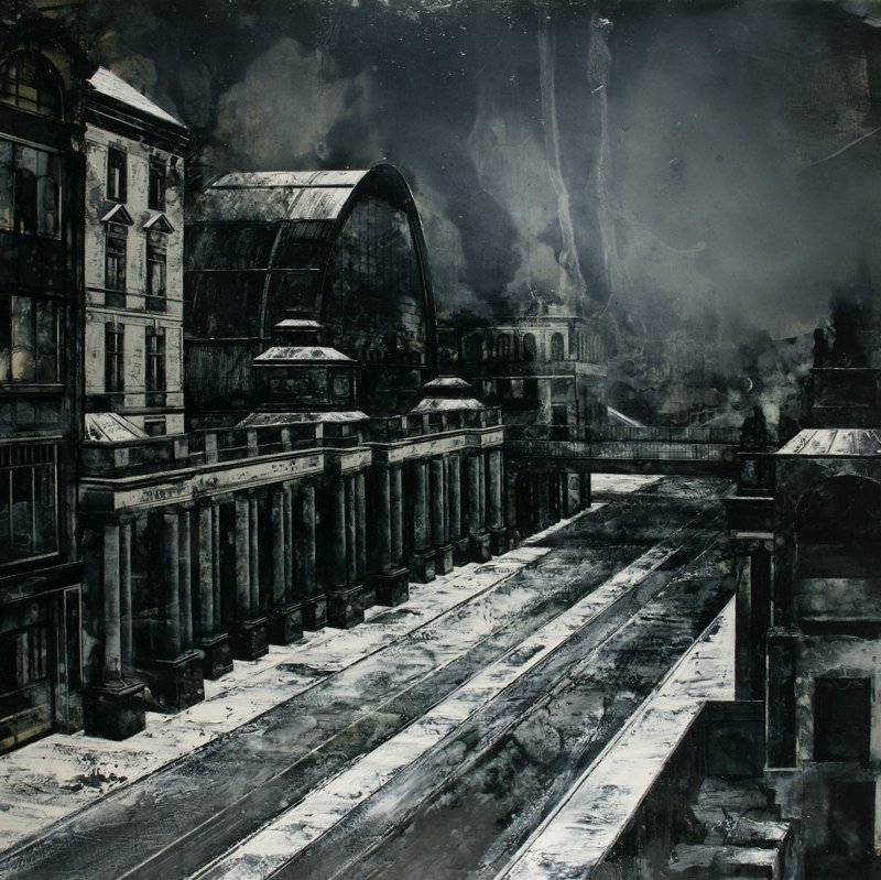 05-For-Something-Lost-Mark-Thompson-Austere-and-Desolate-Cityscapes-Paintings-www-designstack-co