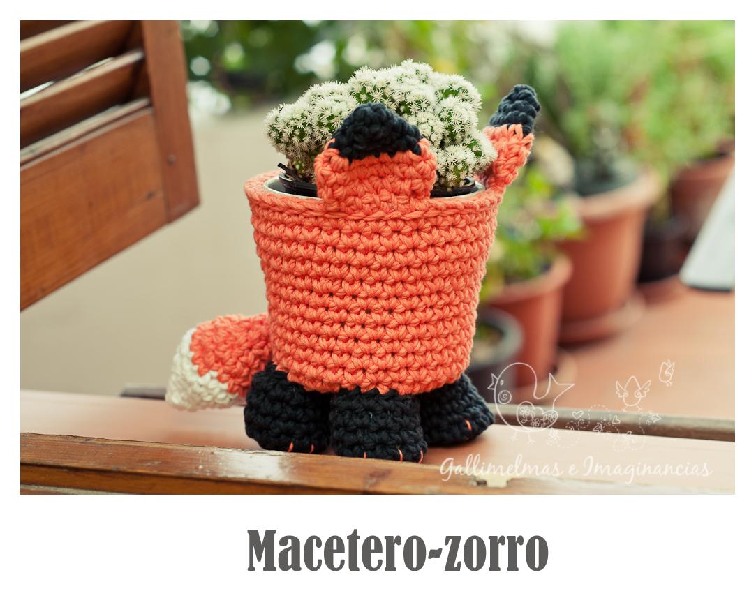 Amigurumi Peluche Zorro Mini Tejido A Crochet - $ 200,00 en ... | 857x1083