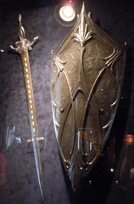 Alice in Wonderland sword and shield props