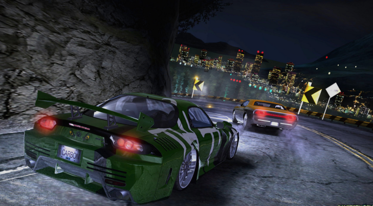 ScreenShot Need for Speed Carbon For Pc