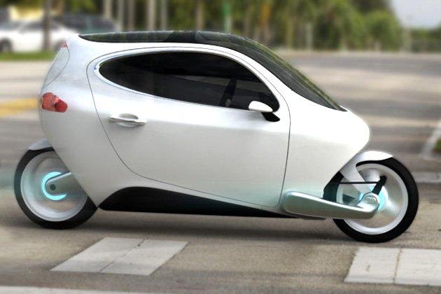 New Launched Hybrid Motor Bike Car
