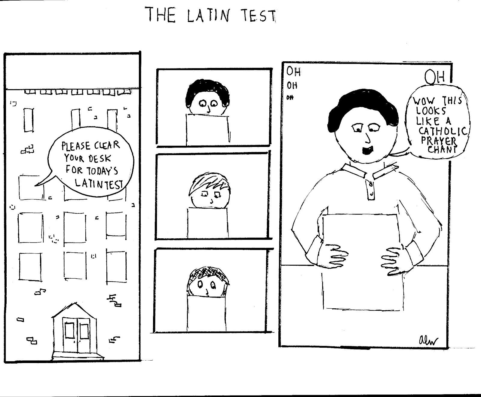ALW Comics: The Latin Test