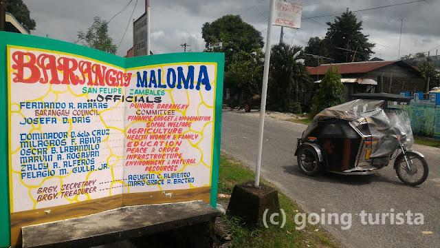 To Sitio Sagpat Falls