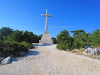 Križ Vidova gora, Bol, otok Brač slike