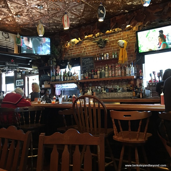 interior of Up & Under Pub and Grill in Pt. Richmond, California
