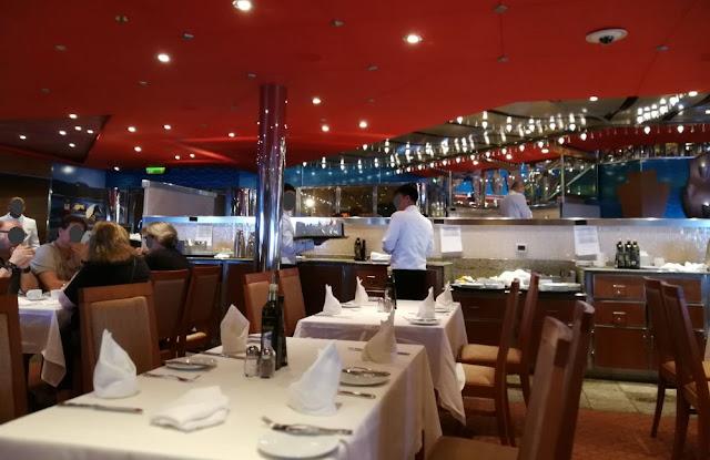 Seetag auf der Costa Magica: Frühstück im Ristorante Costa Smeralda