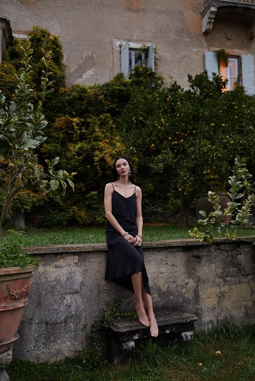 Equipment Spring Summer 2018 Ad Campaign ft. Mariacarla Boscono