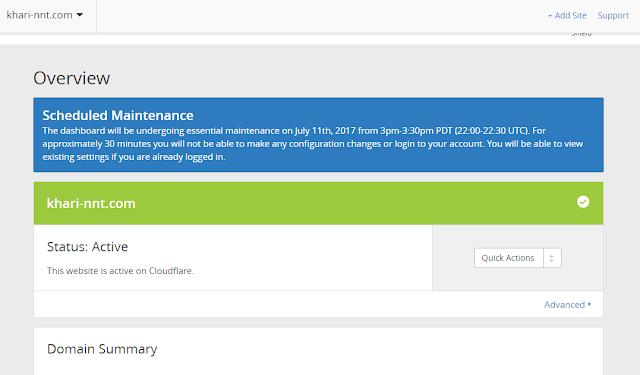 [TUT]Hướng Dẫn Trỏ Tên Miền Blogspot Về Cloudflare