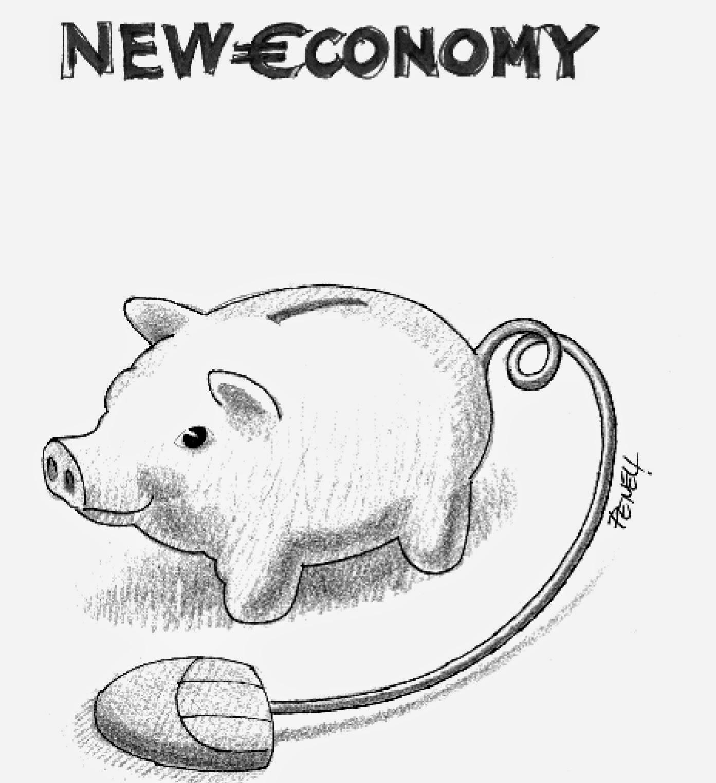"""Mi dicono che: C'era una volta la """"new economy"""""""