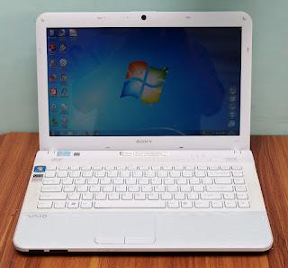 Jual Laptop Sony Vaio VPCEG25EG Bekas