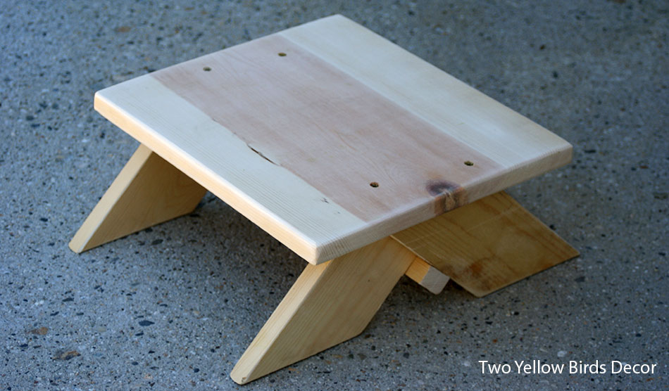 Diy Wooden Step Stool Pdf Woodworking