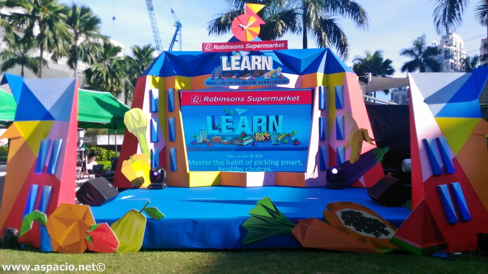 The LEARN Promo for Robinsons Supermarket