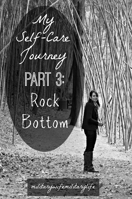 My Self-Care Journey Part 3: Rock Bottom