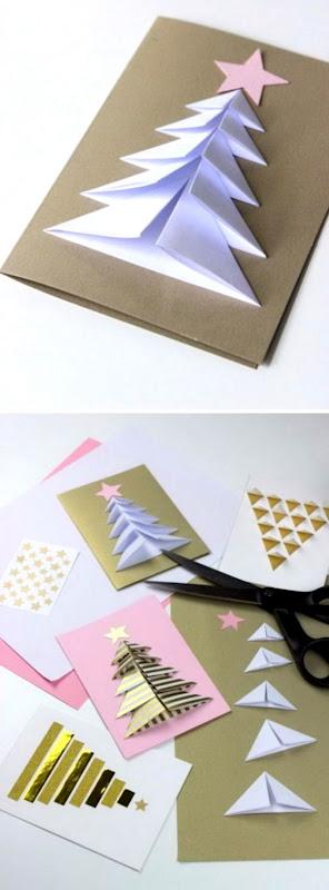 20 Handmade Christmas Card Ideas 2017