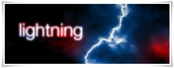 Создание реалистичной молнии в Фотошопе