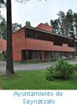 Ayuntamiento Saynatsalo. Alvar Aalto.