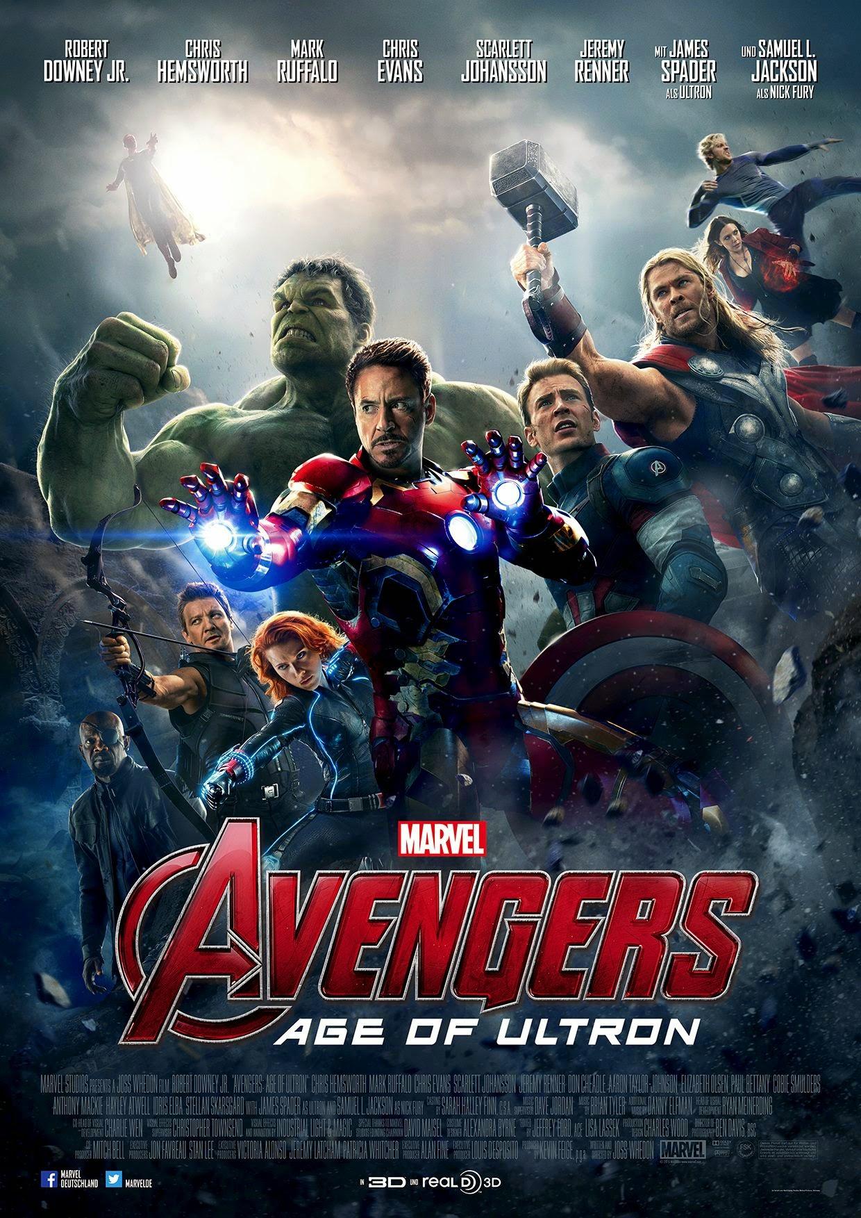 avengers czas ultrona plakat film recenzja iron man robert downey