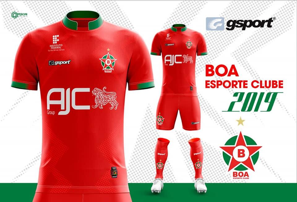 e797791b68 Gsport divulga as novas camisas do Boa Esporte - Show de Camisas
