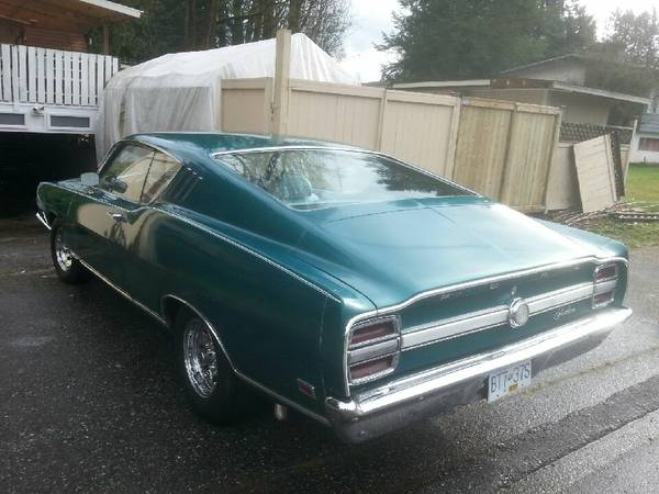 1969 Fairlane Fastback For Sale Buy American Muscle Car