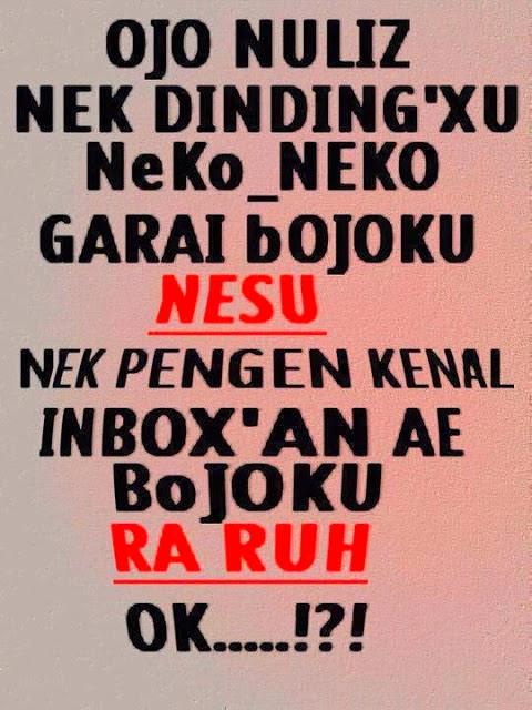 Download 860 Koleksi Gambar Kata Lucu Cinta Bahasa Jawa Paling Lucu