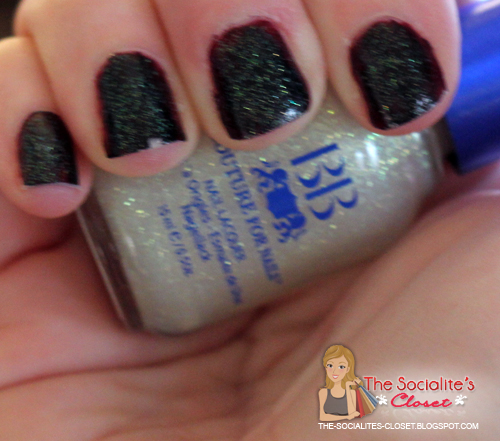 BB Couture Ruby Rain with Diamond Dust
