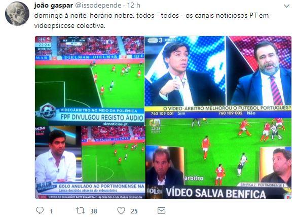 O Benfica e os paineleiros