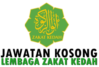Rasmi - Jawatan Kosong (Zakat) Lembaga Zakat Kedah 2019